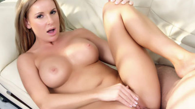 Huge-boobed Blond Mommy Laura Monroe