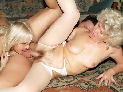 Sizzling Grannies In Lingeries Threeway